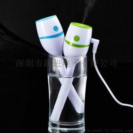 超声波办公加湿器 USB迷你加湿器 空气净化加湿器