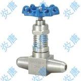 上海炎唐 J61Y J61W 焊接式针型截止阀