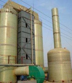 砖厂脱硫塔,湿法脱硫除尘器,玻璃钢脱硫除尘器厂,脱硫除尘锅炉