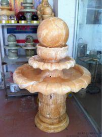 米黄玉风水球, 明石石业风水球