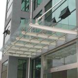 广州钢结构玻璃雨棚厂家定做安装
