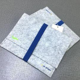 工厂定做各种毛毡包文件包卡包盒毛毡文件包热销质量保证零钱包
