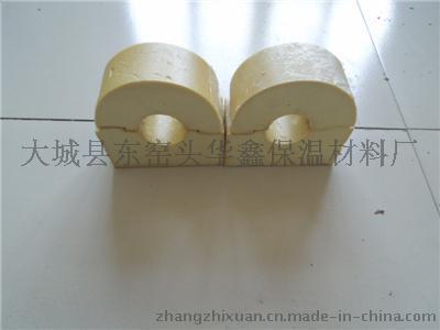 聚氨酯硬质发泡管托新型保冷材料