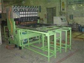 中频龙门结构加强筋多点焊机