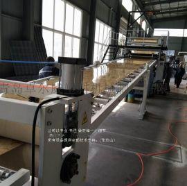PVC石塑板材仿大理石板材生产线价格UV板材设备价格