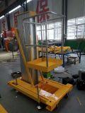 新疆乌鲁木齐热销热销6米小型室内铝合金升降机 移动式液压升降机 电动升降平台