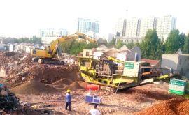 山西建筑垃圾移动破碎站租赁项目