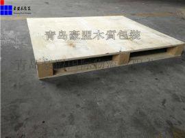 青岛港口厂家单面免熏蒸木托盘 质量可靠 可包装卸