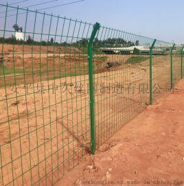 厂区框架围栏 框架护栏网 高速公路双边丝护栏网