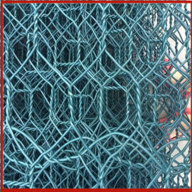 铝锌合金石笼网 防洪护堤雷诺护垫 格宾网石笼施工
