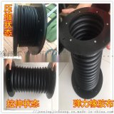 液压油缸 气缸 丝杠用伸缩式圆筒防护罩 军兴制造