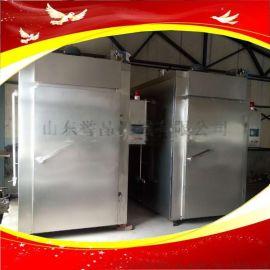 湖南腊肉加工机器全自动大型腊肉烟熏箱板鸭熏烤箱