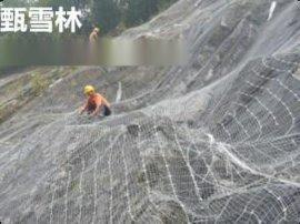 南京植草护坡勾花网-6×6公分护坡机编挂网规格-客土喷播用镀锌勾花网生产厂家