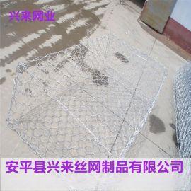 挡墙网石笼,抗冲刷格宾石笼网,防护石笼网生产