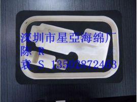 EVA内衬加工 eva成型 黑色海绵包装盒内托