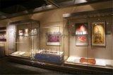 博物馆沿墙柜、博物馆沿墙柜设计制作、博物馆展示柜订制厂家