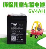 6V4AH铅酸蓄电池 阀控密封式 儿童车、电子称专用蓄电池量大价优