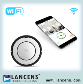 智能扫地机器人视频监控,智能机器人监控方案,wifi传输,APP控制扫地机