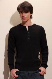 純棉圓領毛衫(M0801)