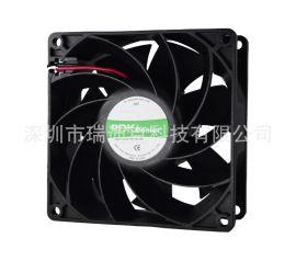供應DC9238散熱風扇雙滾珠大功率增壓直流風扇