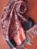 人造棉提花披肩(HHSC-0805)