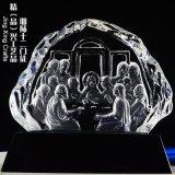 水晶冰山辦公擺件擺件,活動集會禮拜紀念禮品定制
