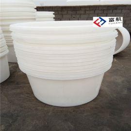 哈尔滨800L开口腌制塑料桶 800升大口塑料盆