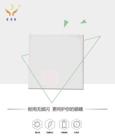 笙荣森LED经济款面板灯40W