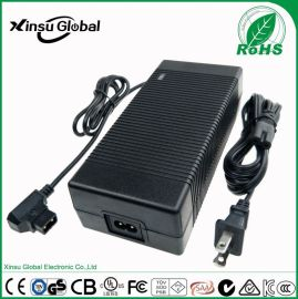 14.6V10A铁锂电池充电器 12.8V10A 欧规TUV LVD CE认证 14.6V10A磷酸铁锂电池充电器
