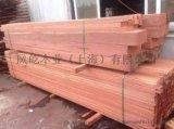 紅柳桉木防腐木定做,紅柳桉木板材