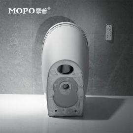 MOPO/摩普MP-2004清洗烘干智能马桶座便器 全自动翻盖一体坐便器