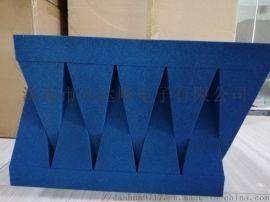 蓝色海绵吸波材料,平板海绵吸波材料