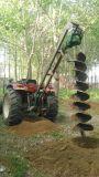拖拉机带树坑挖坑机