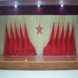 蘭州市訂做會議背景舞臺幕布甘肅省訂做大禮堂舞臺幕布