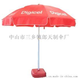 郎天雨伞厂供应中山广州48寸户外广告太阳伞海滩伞