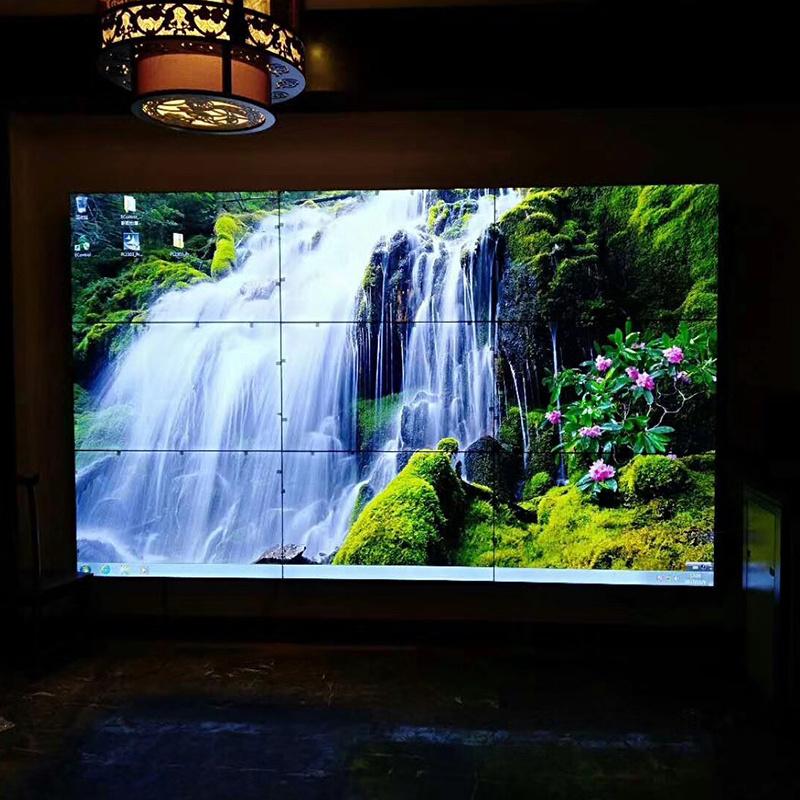 三星46寸3.5mm鋼化液晶拼接屏/ 會議室展廳監控顯示器