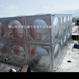 304不锈钢水箱定做 深圳组合保温水箱
