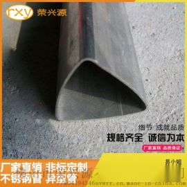 佛山不锈钢异型管厂定制304不锈钢三角管16*16