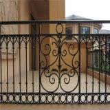 鋼製鐵藝欄杆圍牆網 舊牆改造鐵藝圍欄廠家