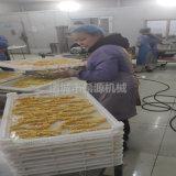 鸡柳条上屑机 鸡柳条裹面包糠机 鸡柳条裹粉机厂家