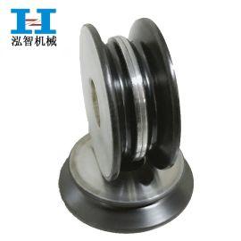 广州泓智 定制太阳组合喷瓷导轮 陶瓷涂层喷涂加工