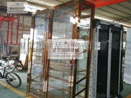 別墅酒吧不鏽鋼紅酒架 展示櫃 恆溫雪茄櫃來圖定制