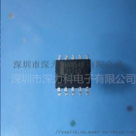 HV8548 双COMS 28V低饱和电压 电机驱动芯片 LV8548MC-AH代替品