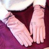 羊绒手套 女冬季保暖加绒加厚触屏骑车