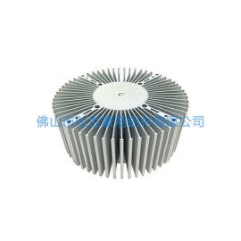 佛山太阳花铝型材散热器 异形铝型材散热器定做