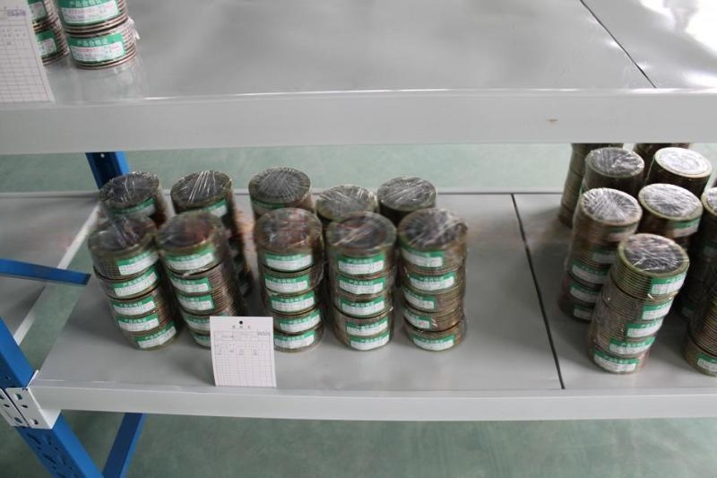 卓瑞密封钛材料金属缠绕垫片