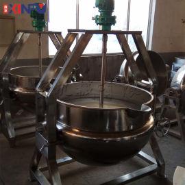 鑫富供应,电磁加热高搅拌夹层锅,炒锅