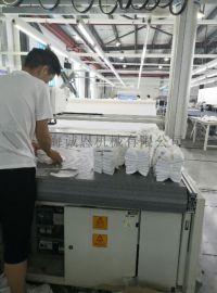 多卷拉布铺布自动裁剪一体机