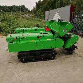 果园开沟施肥机,履带式除草旋耕机厂家
