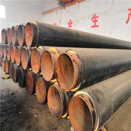 资阳 鑫龙日升 高密度聚乙烯聚氨酯发泡保温钢管 小区供热直埋保温管